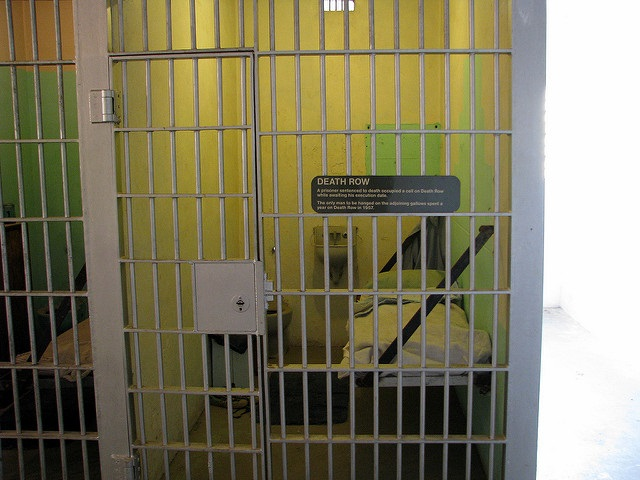 "Death row cell. Photo by ""Christopher"" on flickr.com. Some rights reserved."