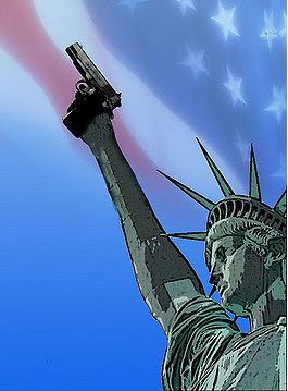 """America: Land of the Gun."" Image by Alan Cleaver. Some rights reserved. flickr.com"