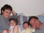 Leah, Jim, Rachel, Ben 2007