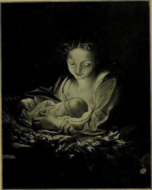 Mary and Jesus. Correggio (1489 - 1534). Public domain