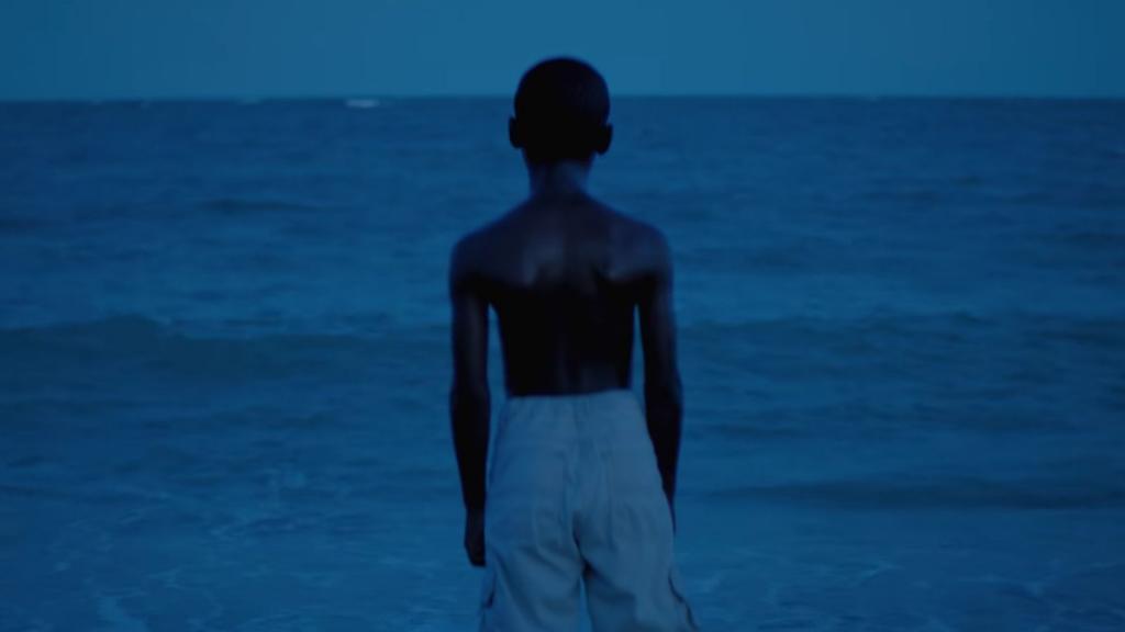 Moonlight, black boys look blue