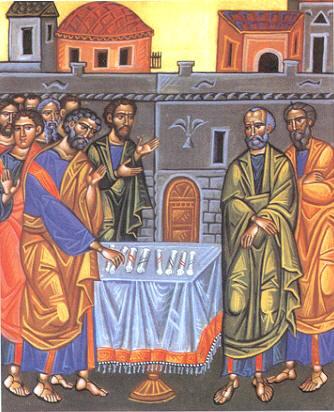election of Matthias icon[1]