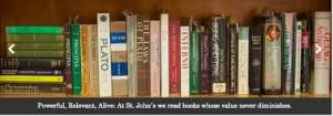 St. John's books