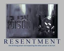 just resentment