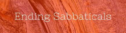 ending sabbatical