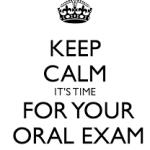 oral exam