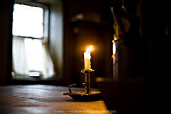 Candle in light 2