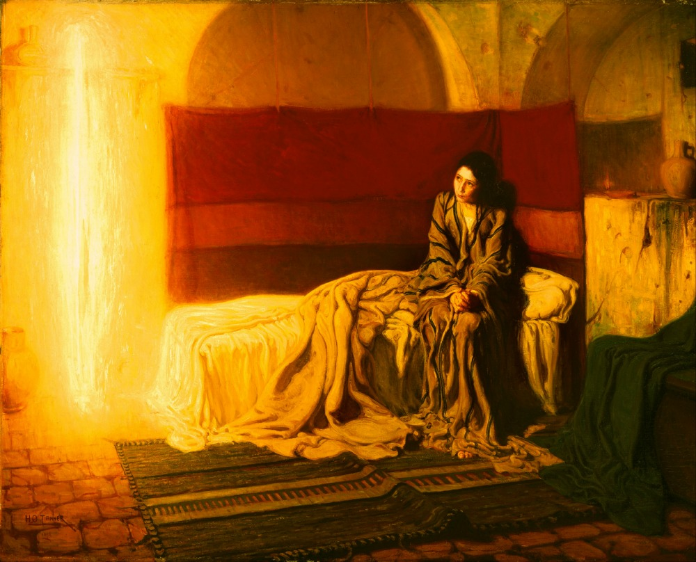 Henry_Ossawa_Tanner,_American_(active_France)_-_The_Annunciation_-_Google_Art_Project