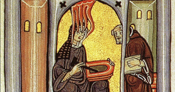 Image Credit: Hildegard depicted in the Liber Scivias | Public Domain