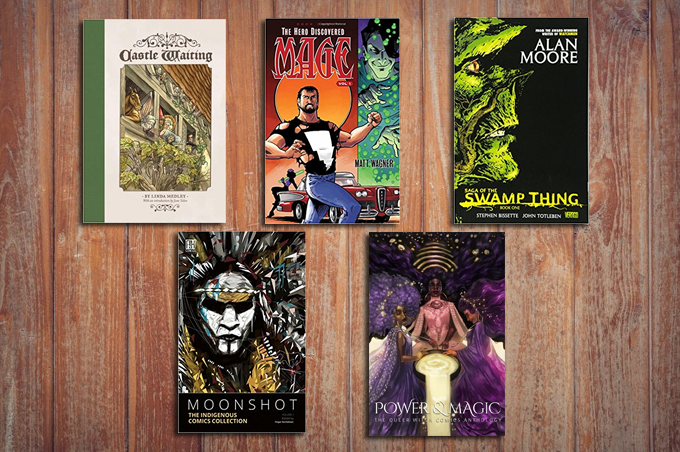 Graphic Novels For Occultists | Mat Auryn