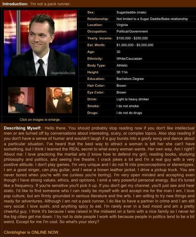 Austin petersen dating profile