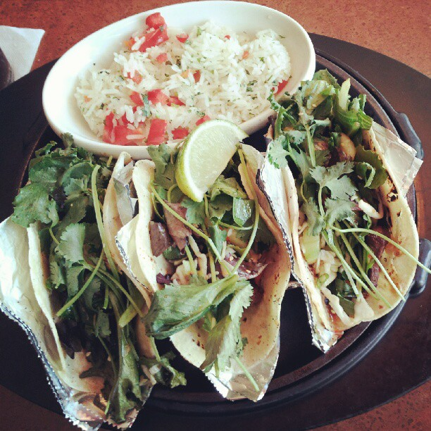 Mexican-Korean fusion tacos. According to some, this food could be an insidious theft of someone's culture. Obtained through Creative Commons.