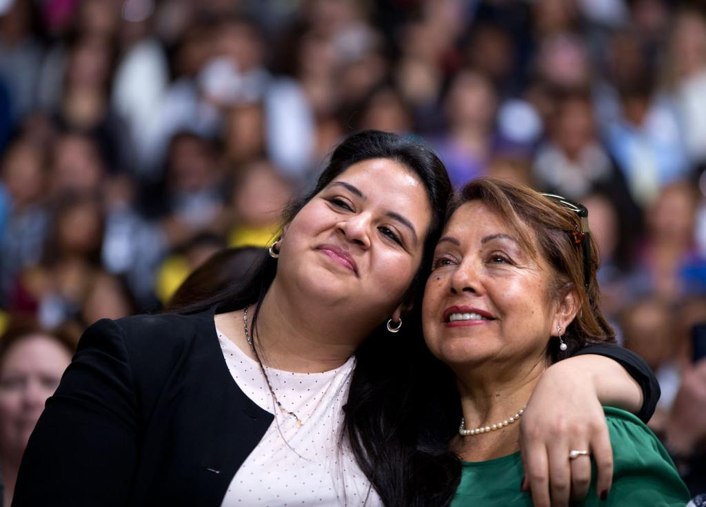 Two Latino women celebrate Obama's announcement of the DACA program for young immigrants. Obtained through Creative Commons.