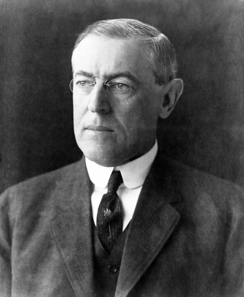 U.S. President Woodrow Wilson is renowned for his contributions to a rules-based international system. But his legacy is tainted by his enforcement of segregation in the federal workforce. Obtained through Creative Commons.