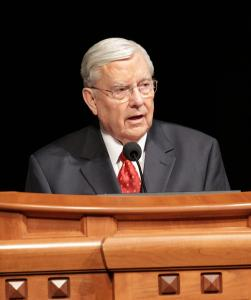 Elder M. Russell Ballard of the Quorum of the Twelve Apostles. Obtained through Creative Commons.