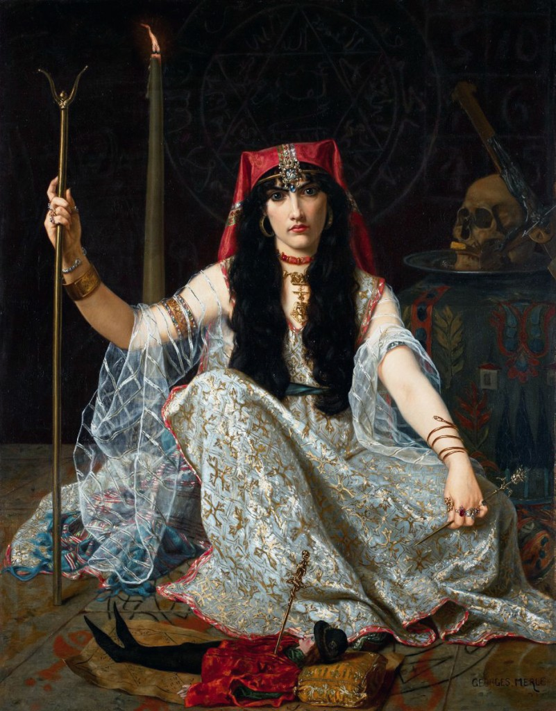The Sorceress, by Georges Merle, Wikimedia Commons