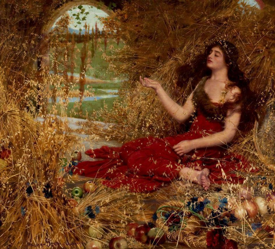 Autumn, William Stott of Oldham 1898, Wikimedia Commons