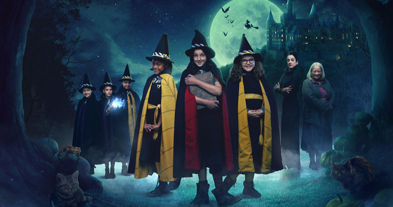 Worst Witch group photo pagan wiccan blog review netflix