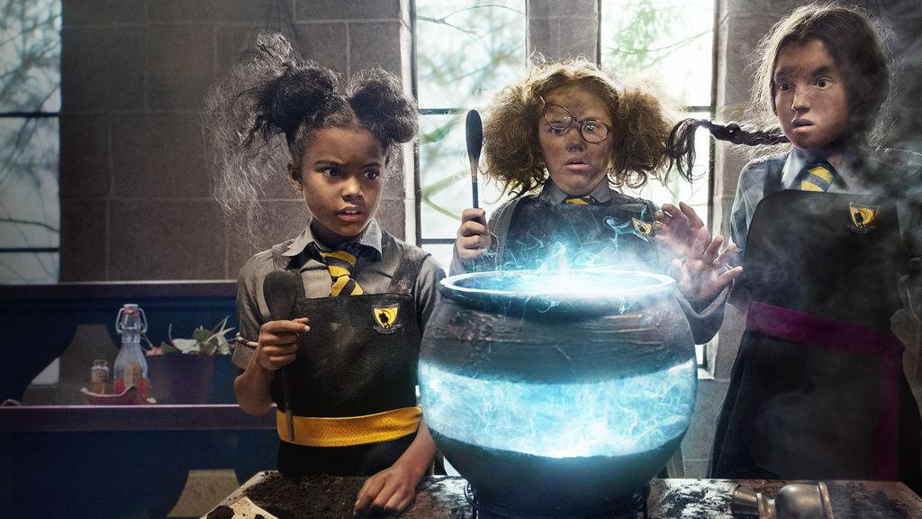 Promotional photo from Netflix of Enid, Maud, and Mildred