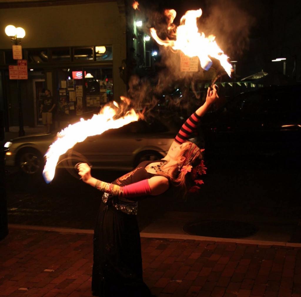 astrea fire dance fans