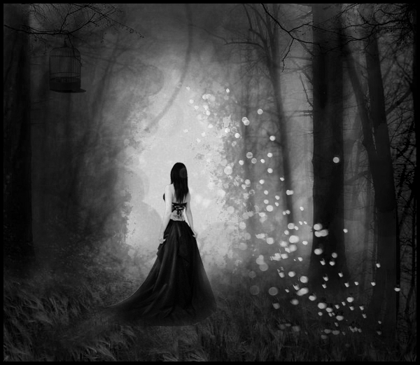 Dark Forest Girl, by roltirirang. Creative Commons 3.0