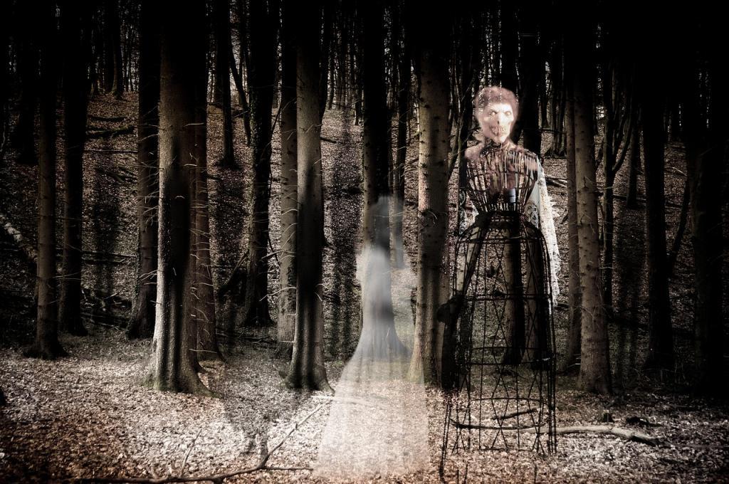 dark spirits haunt ghosts magic