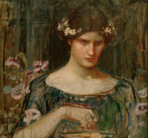 Sketch for Medea, J.W. Waterhouse. Public Domain.