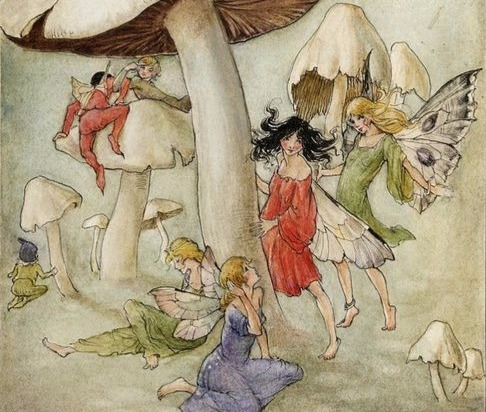 Fairy revels, Florence Mary Anderson. Public Domain.