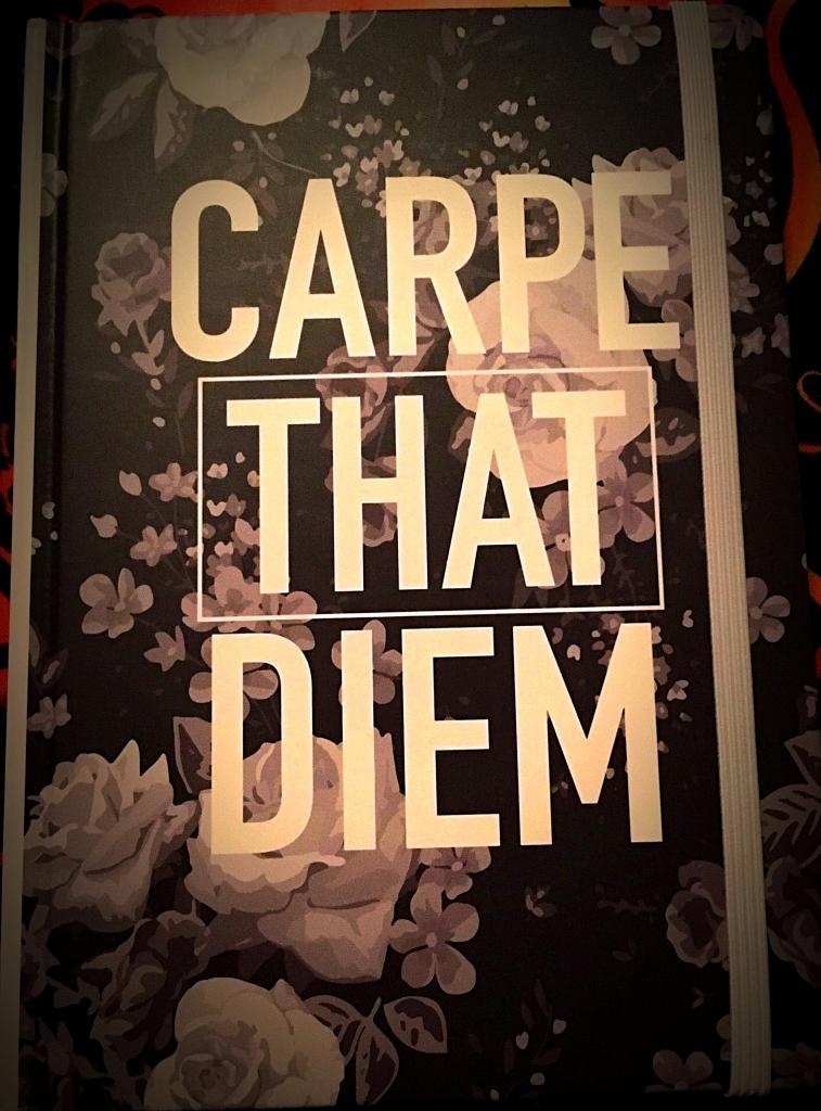 Carpe that diem! My first book of shadows.