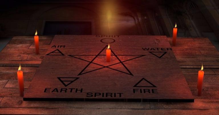 candle ritual pagan wiccan practice regular