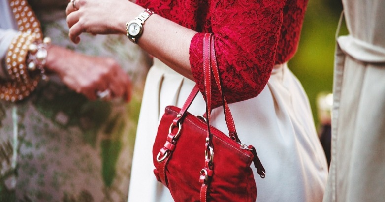 red purse witch wicca pagan