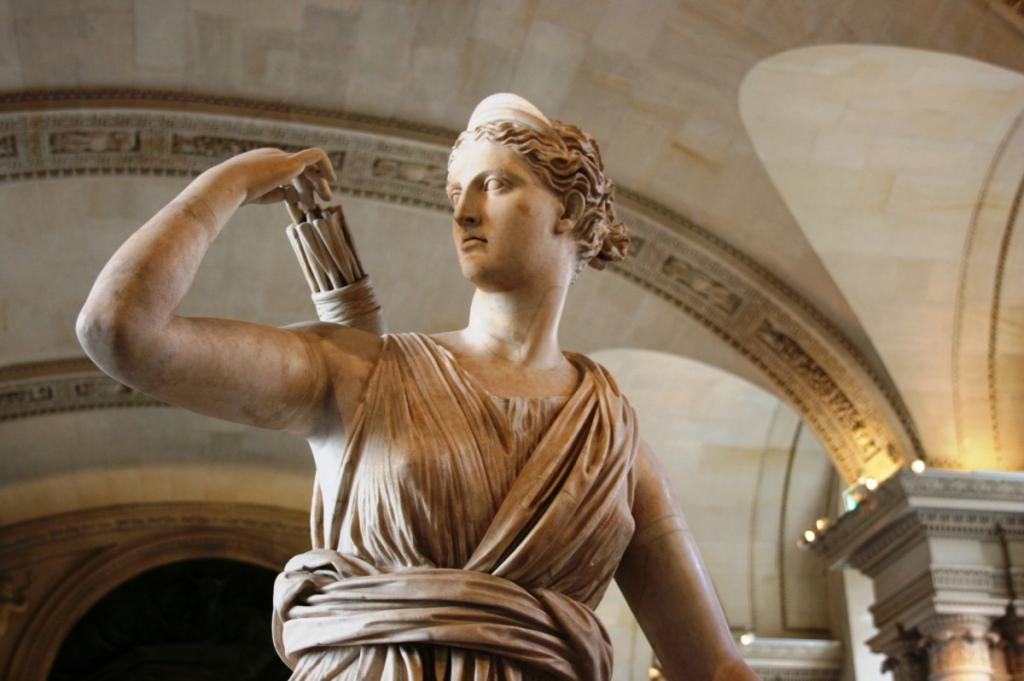 roman goddess diana or greek goddess artemis