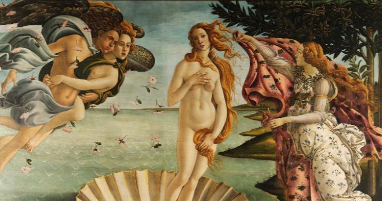 birth-venus-roman-goddess-love-pagan-symbolism