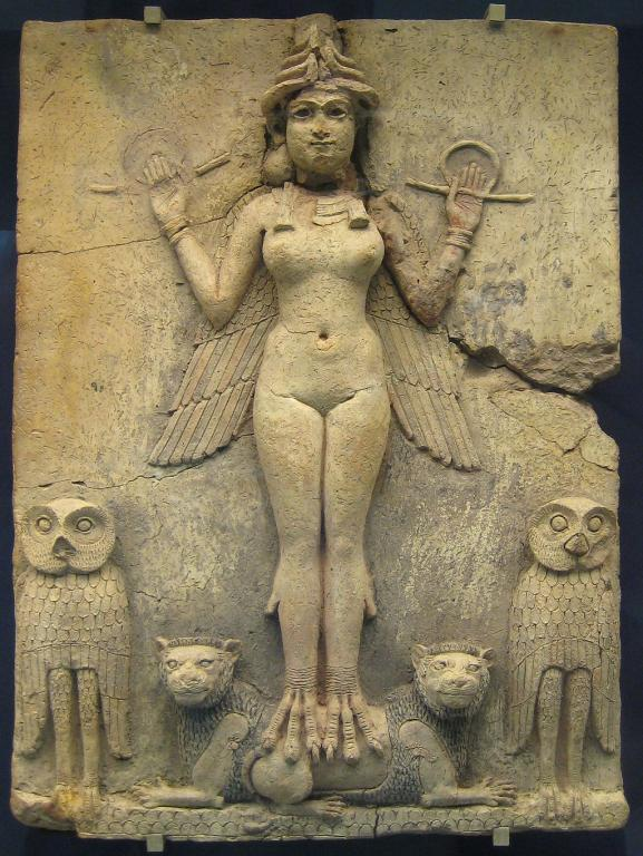 Ereshkigal goddess death pagan sumerian