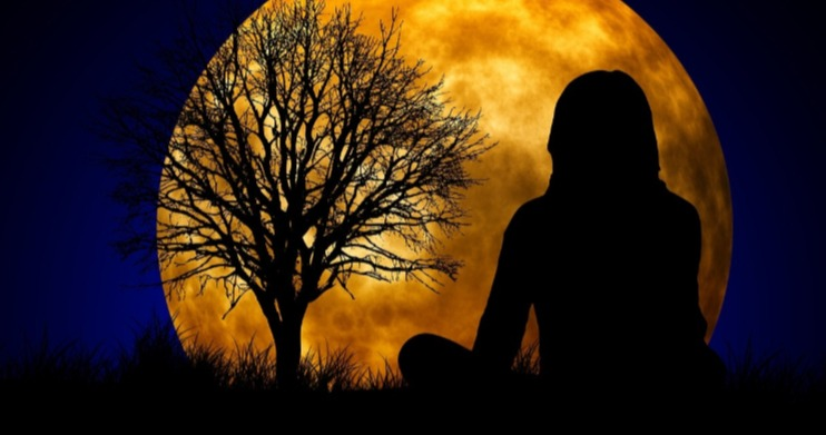how often practice pagan witchcraft wicca woman moon