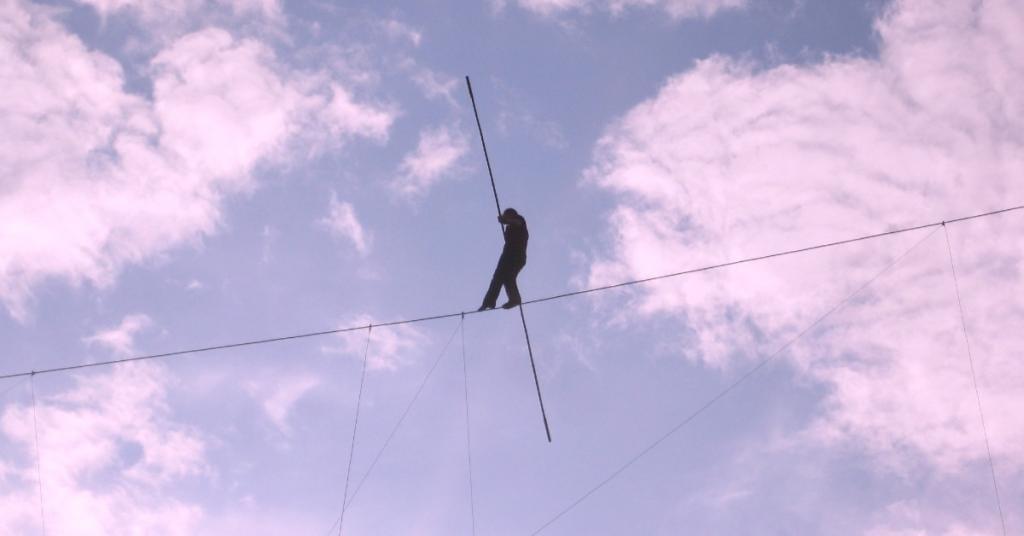 covid feels like walking tightrope patheos pagan perspective