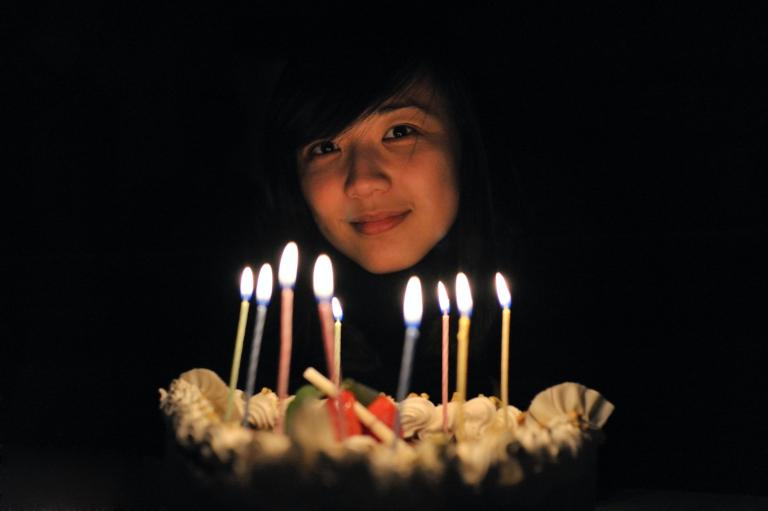 magic of birthday candles witchcraft pagan spells magic magick woman