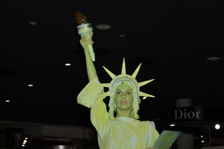 statue of liberty libertas goddess freedom pagan roman lady liberty league