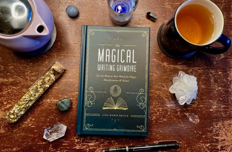 Magical Writing Grimoire Lisa Marie Basile Magical Writing book pandemic witchcraft pagan journal review