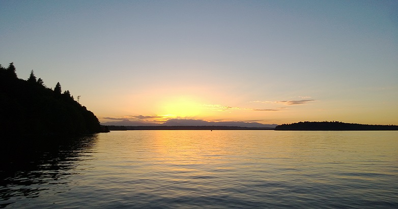 Pictured: the magical land to which I imagined escaping, which might be Avalon, and might be Vashon Island. Who knows?