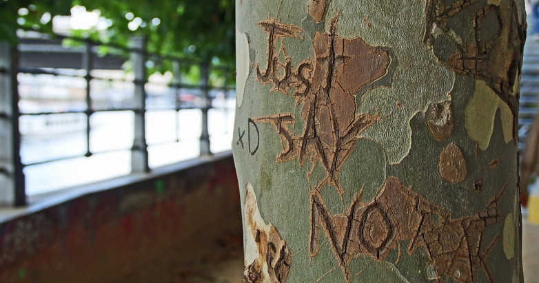 No, it's not as simple as 'just say no.' But that's where we'll start.