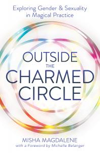book cover for outside the charmed circle