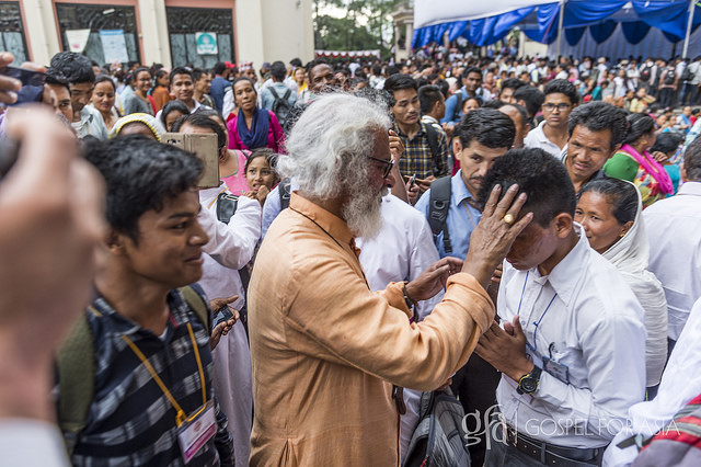 KP Yohannan in India