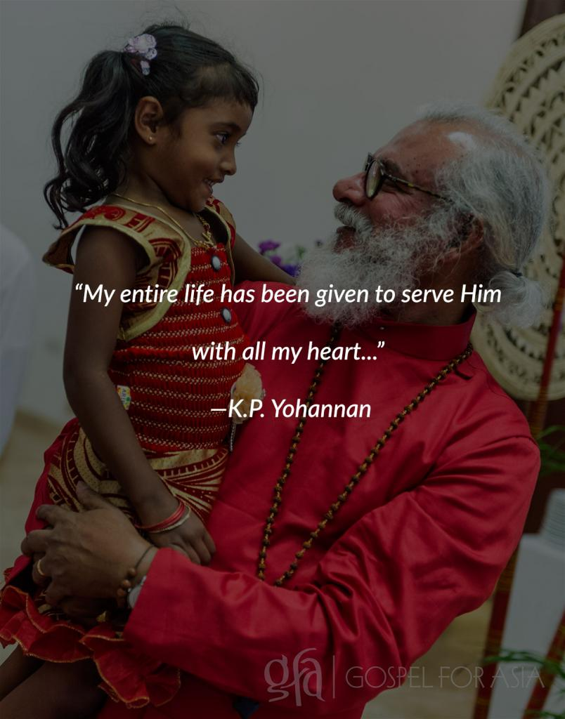 KP Yohannan Quote