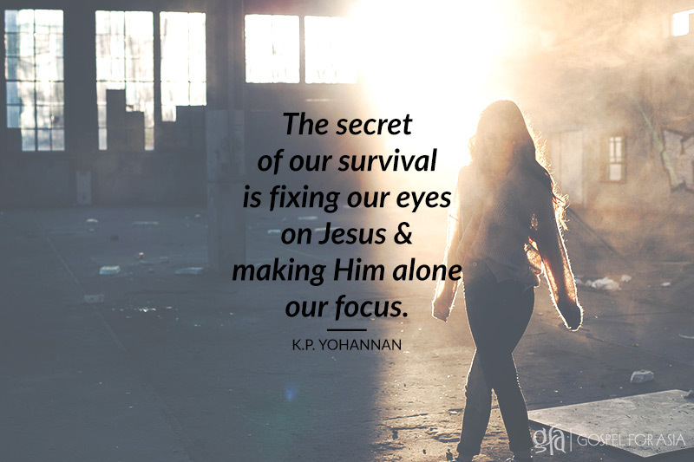 run with endurance - KP Yohannan - Gospel for Asia