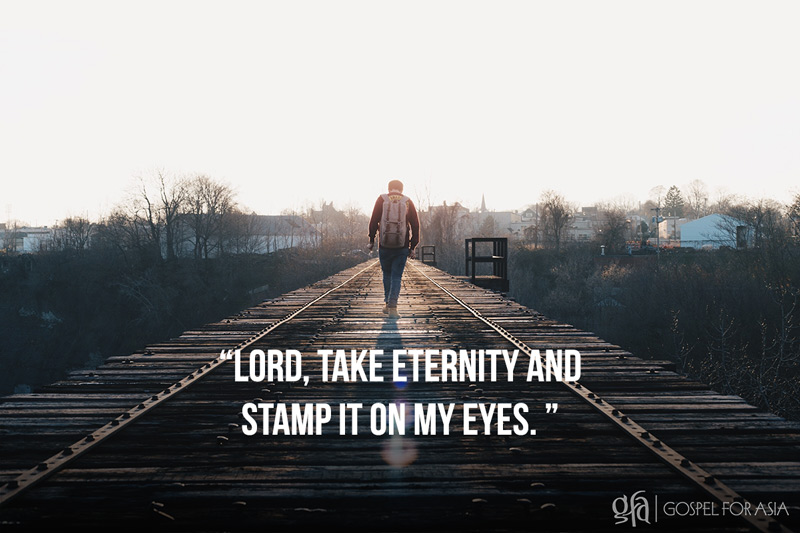 Take Eternity and Stamp it - KP Yohannan - Gospel for Asia