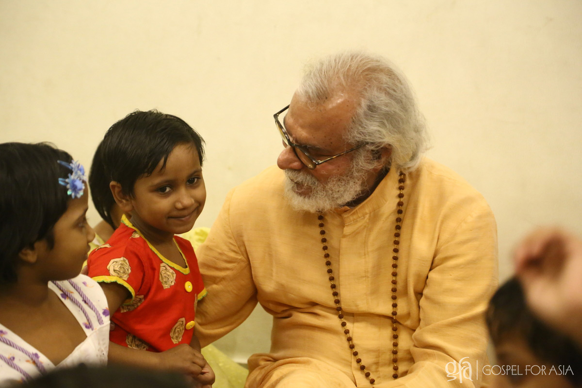 """I might not be able to make a difference in the lives of all the precious children who are struggling without their basic needs, but I know I have made a difference for the little girl I saw last week,"" says Dr. KP Yohannan Metropolitan."