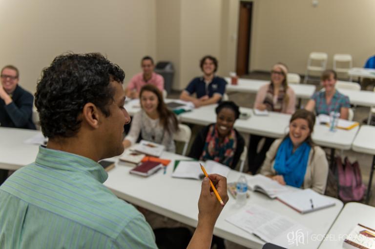 Daniel Yohannan teaching a School of Discipleship class - KP Yohannan - Gospel for Asia