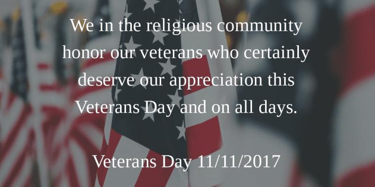 Veterans Day - KP Yohannan - Gospel for Asia