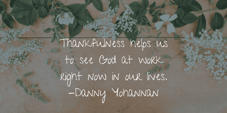 Thankfulness helps us to see God at work - KP Yohannan - Gospel for Asia